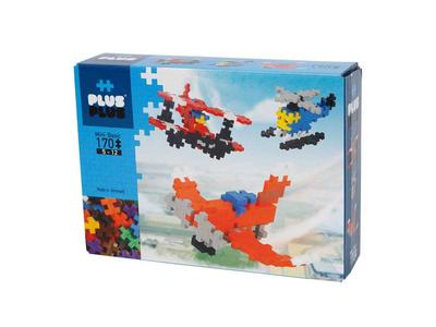 Plus Plus Τουβλάκια σε Κουτί 170τεμ Αεροπλάνα