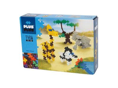 Plus Plus Τουβλάκια σε Κουτί 170τεμ Σαφάρι