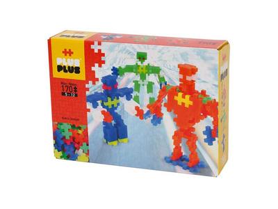 Plus Plus Τουβλάκια σε Κουτί 170τεμ Robots