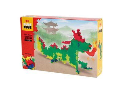 Plus Plus Τουβλάκια σε Κουτί 360τεμ Δράκος