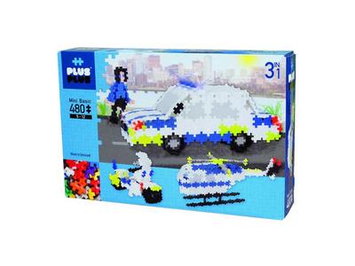 Plus Plus Τουβλάκια σε Κουτί 480τεμ Αστυνομία