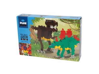 Plus Plus Τουβλάκια σε Κουτί 480τεμ Δεινόσαυροι