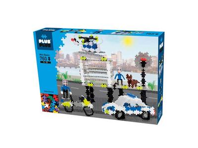 Plus Plus Τουβλάκια σε Κουτί 760τεμ Αστυνομία