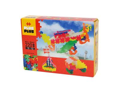 Plus Plus Τουβλάκια σε Κουτί 220τεμ Neon