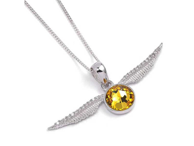 Κρεμαστό Golden Snitch με Swarovski (Harry Potter)