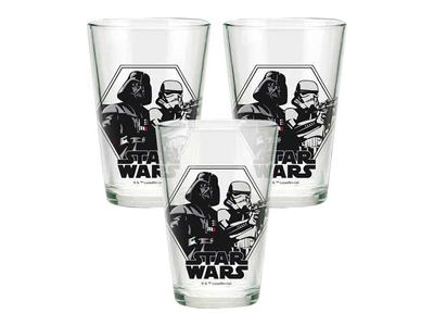 Ποτήρια Σετ 3τεμ Star Wars