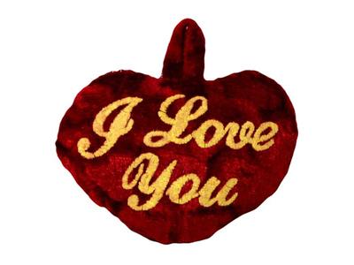 Λούτρινη Καρδιά I Love You