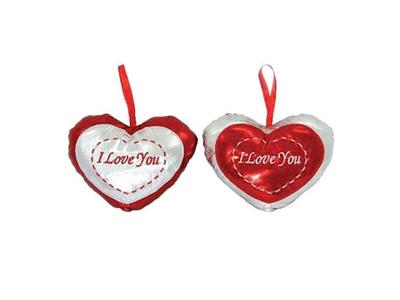 Κρεμαστά Μαξιλαράκια Καρδιά 2τεμ