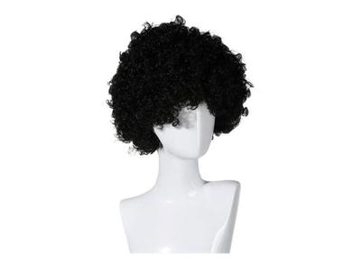 Περούκα Άφρο Μαύρη