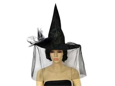 Καπέλο Μάγισσας Μαύρο