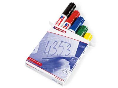 Edding 800 Ανεξίτηλος Μαρκαδόρος Μεταλλικός Σετ 5 Χρώματα