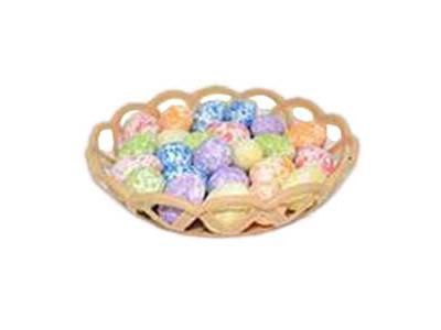 Πασχαλινό Καλαθάκι με 24 Χρωματιστά Αβγά