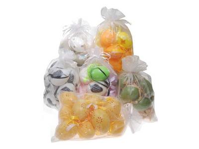 Σακουλάκι με 18 Διακοσμητικά Πασχαλινά Αβγά