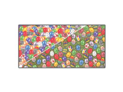 Χαρτόνι 2 Όψεων Πασχαλινά Αυγά 50x70εκ 10τεμ