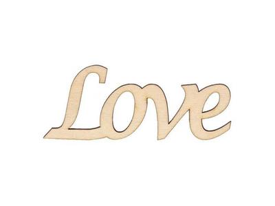 Επιγραφή Love 6τεμ