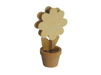 Μεμο Κλιπ Λουλούδι 6τεμ