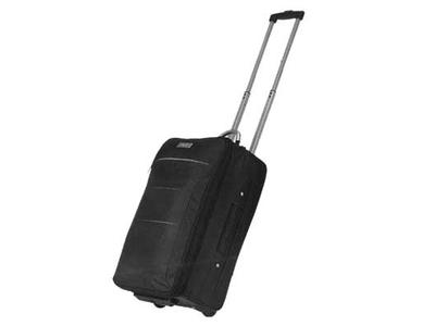 Βαλίτσα Τρόλευ Μαύρη 52x31x20.5εκ