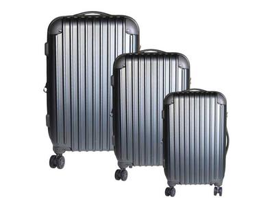 Σετ 3 Βαλίτσες Ταξιδίου ABS Γκρι