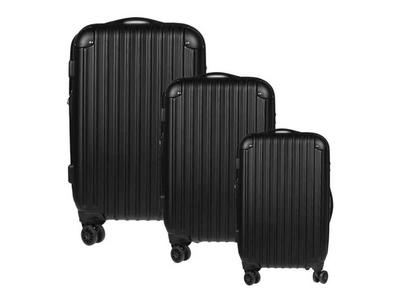 Σετ 3 Βαλίτσες Ταξιδίου ABS Μαύρο