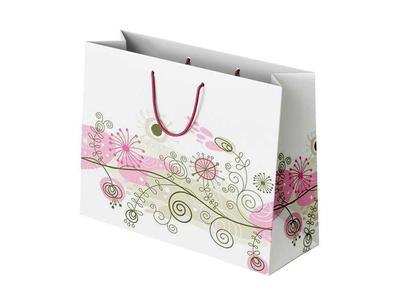 Χάρτινη Σακούλα Σύνθεση Floral