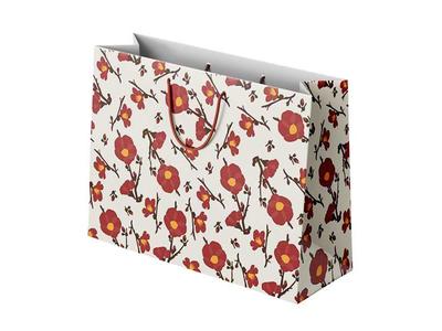 Χάρτινη Σακούλα Φθινοπωρινά Λουλούδια
