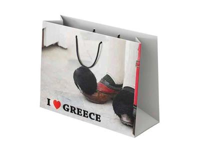Χάρτινη Σακούλα I Love Greece