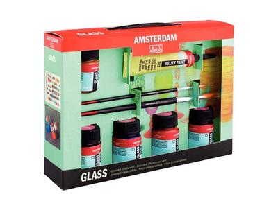 Talens Σετ decorfin Glass 6τεμ