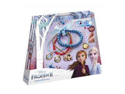 Κατασκευή Βραχιολάκια με Χάντρες (Frozen 2)