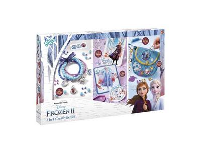 Σετ Δημιουργικότητας 3 σε 1 (Frozen 2)