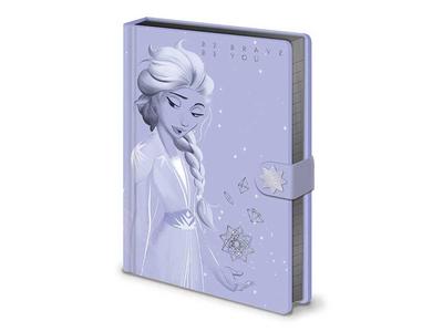 Σημειωματάριο Α5 Lilac Snow (Frozen 2)