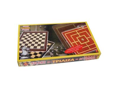 Σκάκι - Ντάμα - Τρίλιζα