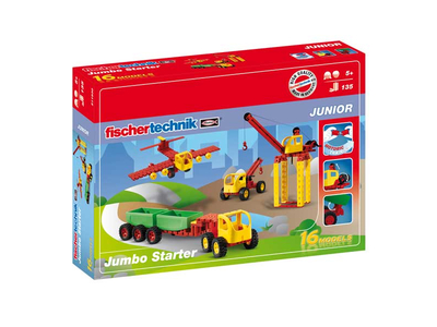 Fisher Technik Junior Διαφορα Οχήματα Σετ 4τεμ