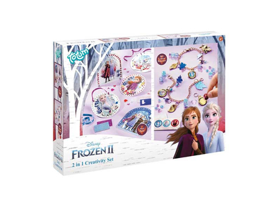 Totum Σετ Ζωγραφικής & Κατασκευή Βραχιολάκια 2 σε 1 (Frozen 2)