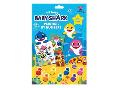 Σετ Ζωγραφικής με Νούμερα Baby Shark