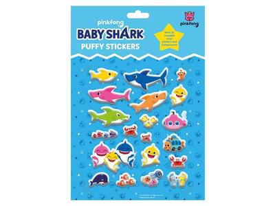 Φουσκωτά Αυτοκόλλητα Baby Shark TM074187