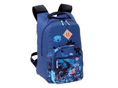 Bodypack Τσάντα Πλάτης 1Θ. 47x31x24,5cm Botanic Μπλε