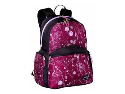 Bodypack Τσάντα Πλάτης 2&4Θ. 44x32x20cm Marble Φούξια