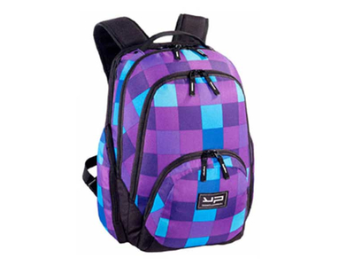 Bodypack Τσάντα Πλάτης Laptop 2&3Θ. 45x32x21cm Μωβ