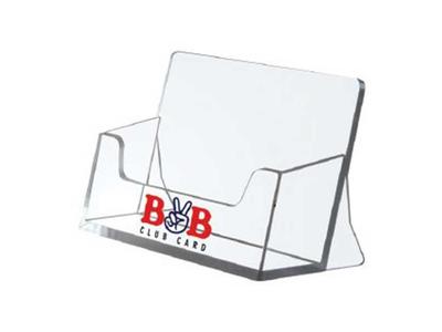 Επιτραπέζιο Σταντ Ακρυλικό για Κάρτες 5,5x9,5x4εκ.