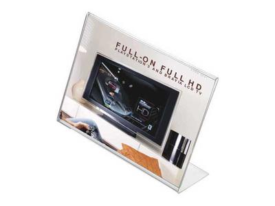 Επιτραπέζιο Σταντ Εντύπων Ακρυλικό Οριζόντιο Α4