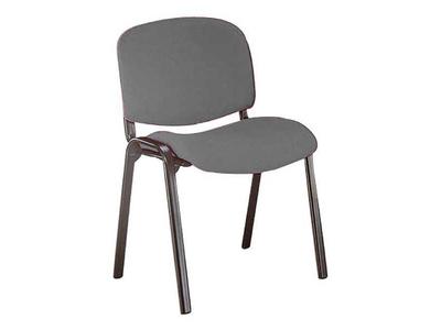 Καρέκλα Γραφείου Επισκέπτη με Σκελετό Χρωμίου Γκρι