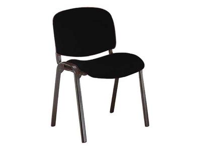 Καρέκλα Γραφείου Επισκέπτη με Σκελετό Χρωμίου Μαύρο