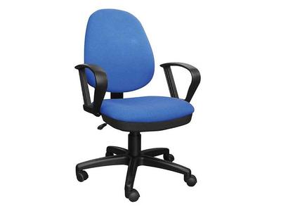 Καρέκλα Γραφείου Μπλε με Ψηλή Πλάτη