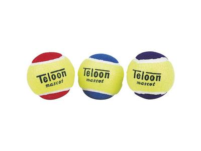 Μπαλάκια Teloon Mascot Δίχρωμα 3τεμ.