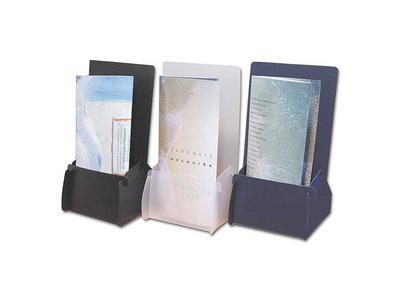 Σταντ για Έντυπα από PVC 22,5x11x4.5εκ. Διάφανο