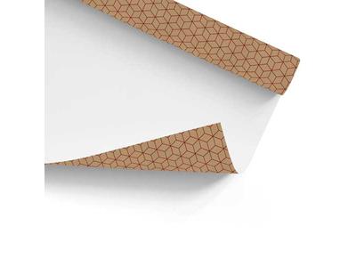 Χαρτί Περιτυλίγματος Κραφτ Geometric