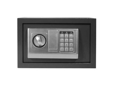 Χρηματοκιβώτιο με Συνδυασμό και Κλειδί Γκρι Υ20x31x20εκ.