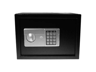 Χρηματοκιβώτιο με Συνδυασμό και Κλειδί Μαύρο Υ20x24x18εκ
