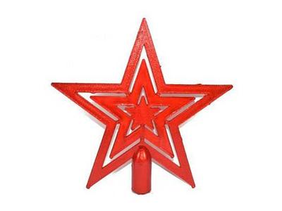 Χριστουγεννιάτικη Κορυφή Δέντρου Αστέρι