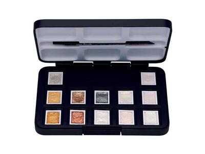 Talens Van Gogh Νερομπογιές 12 Χρωμάτων Pocket Box